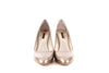 Louis Vuitton Silver Patent Pumps