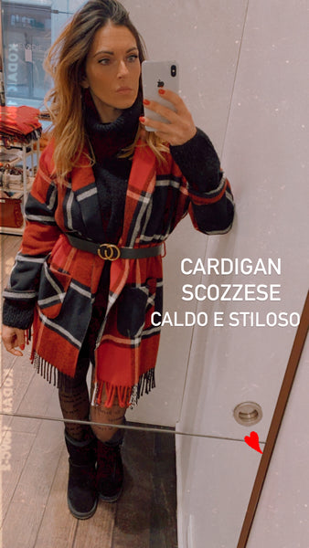 Cappotto cardigan