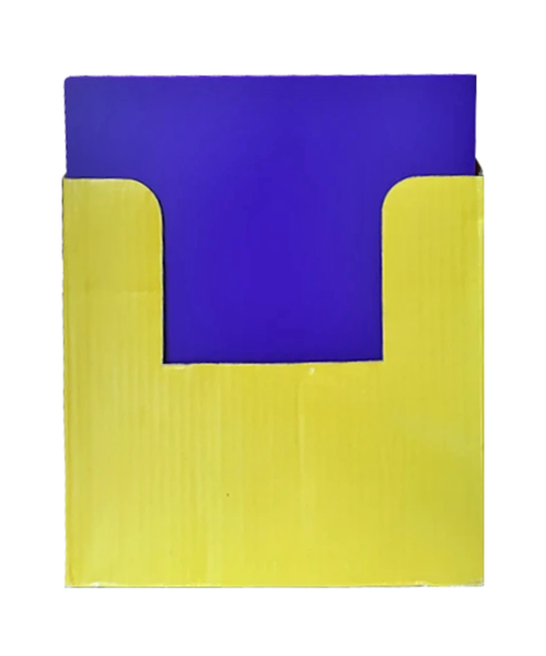 2 POCKET POLY FOLDER WITH PRONGS, LETTER SIZE - ASSORTED COLORS