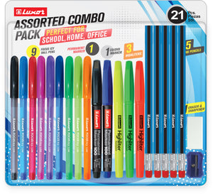 ASSORTED COMBO PACK (21PC BLISTER)