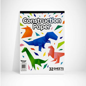 CONSTRUCTION PAPER PAD 32 CT ,9 X 12