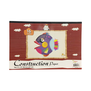 CONSTRUCTION PAPER PAD 16 CT, 18 X 12
