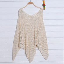 2018 New Knit Hollow Out Swimwear Bikini Cover Up