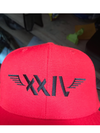 xxiv hat Red - Morgan Riich XXIV