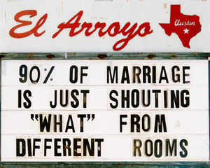 El Arroyo Marriage Print