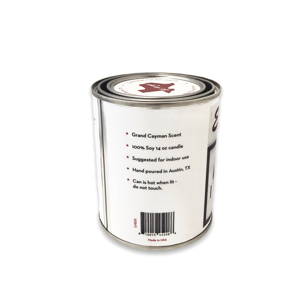 14 oz Paint Can Candle - Chess