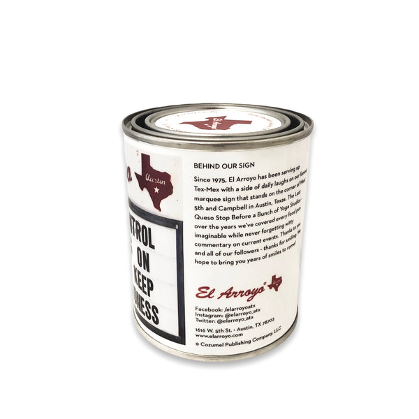 14 oz Paint Can Candle - Choosing Kindness