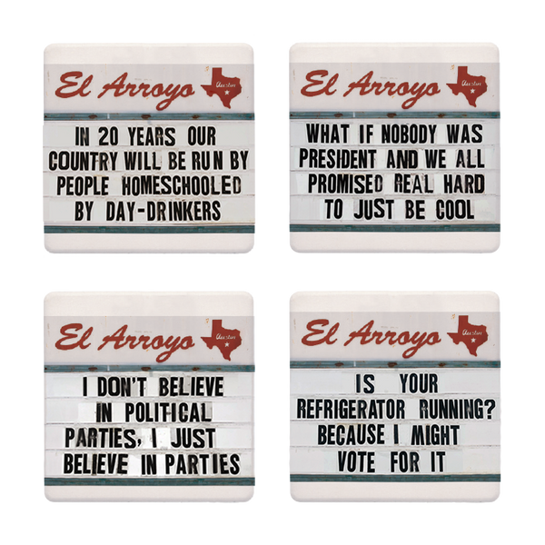 Coaster Set - Political Parties