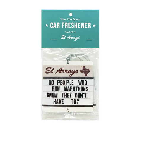 Car Air Freshener (2 Pack) - Marathons