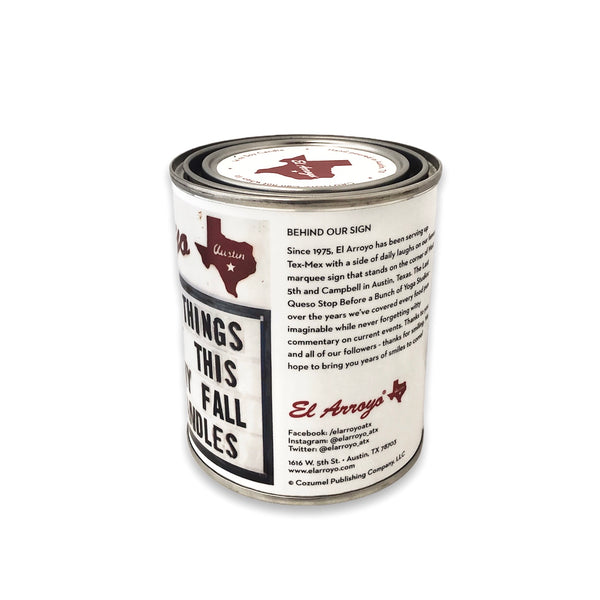 14 oz Paint Can Candle - Getting Lit