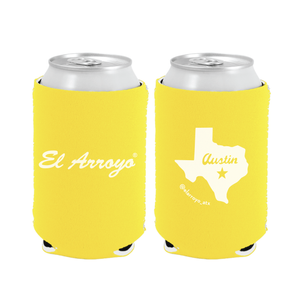 Party On Koozie - Yellow