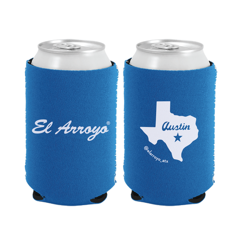 Party On Koozie - Blue