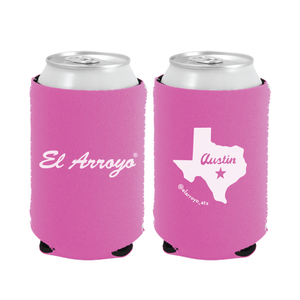 Party On Koozie - Pink