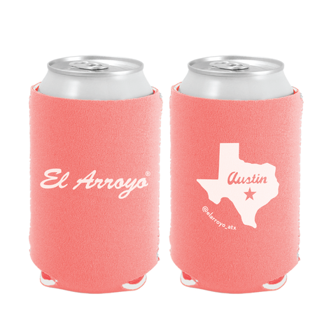 Party On Koozie - Coral