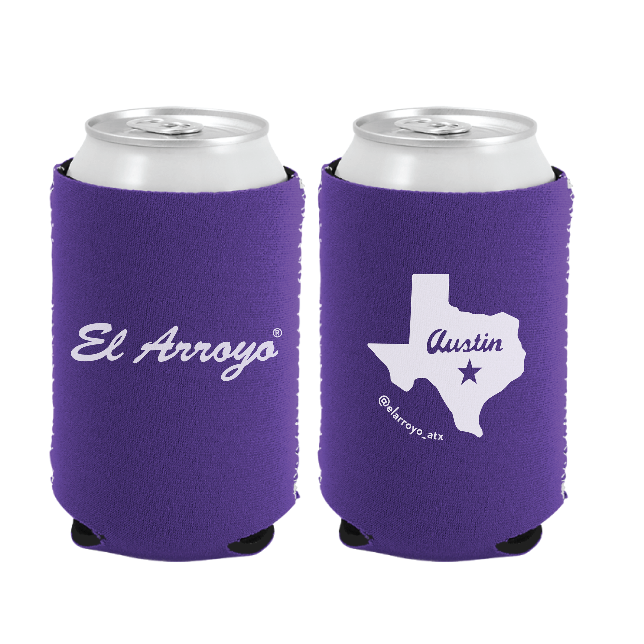 Party On Koozie - Purple