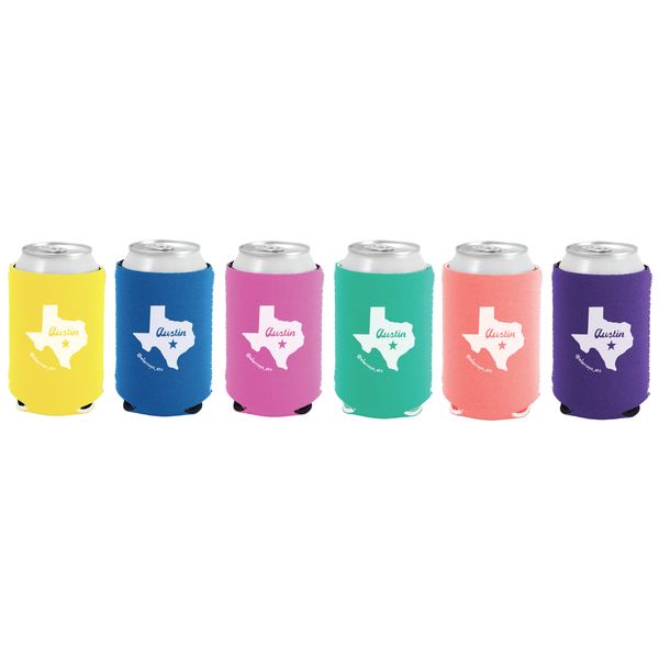 Party On Koozies (Set of 6)