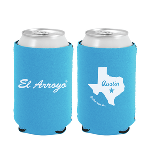 Party On Koozie - Light Blue