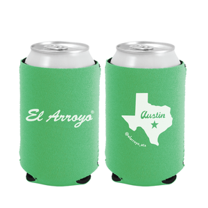 Party On Koozie - Green