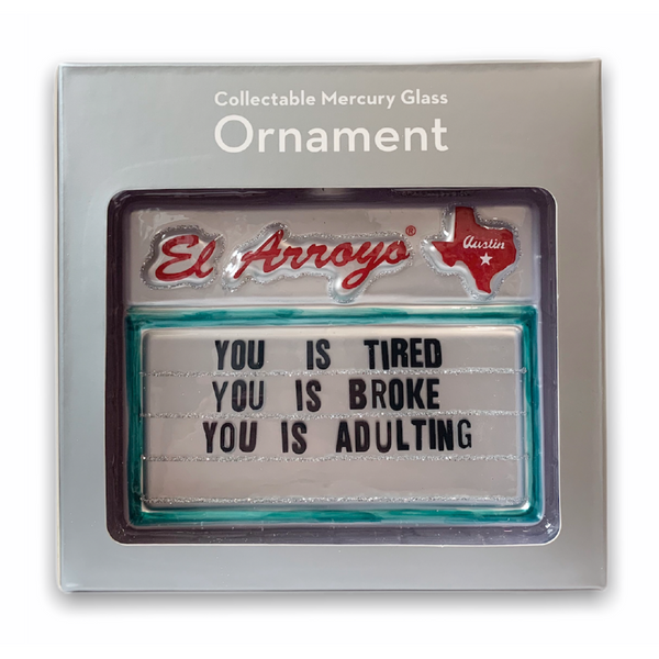 *PRE-ORDER* Ornament - Adulting