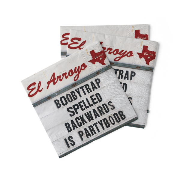 Cocktail Napkins (Pack of 20) - Partyboob