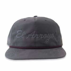 Charcoal El Arroyo Hat
