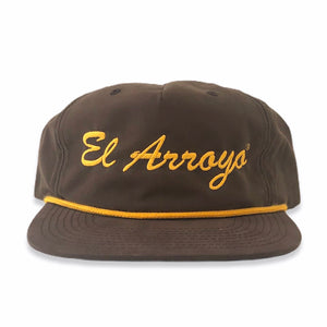 Brown El Arroyo Hat