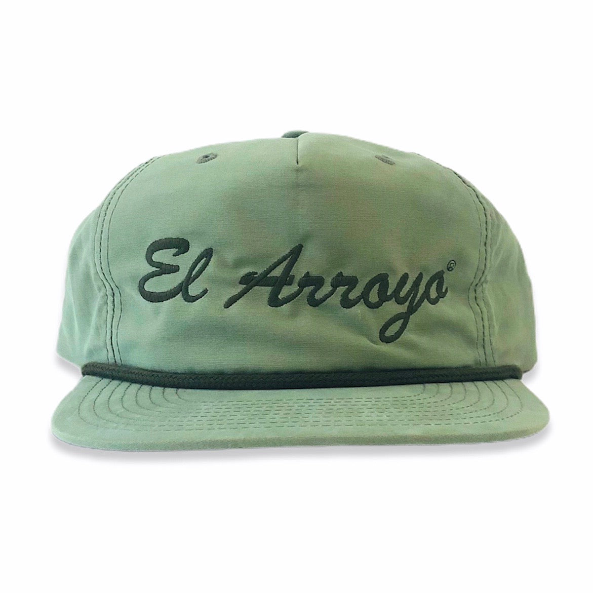 Green El Arroyo Hat