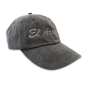 Charcoal El Arroyo Dad Cap
