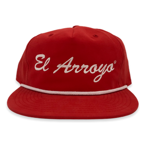 Red El Arroyo Hat