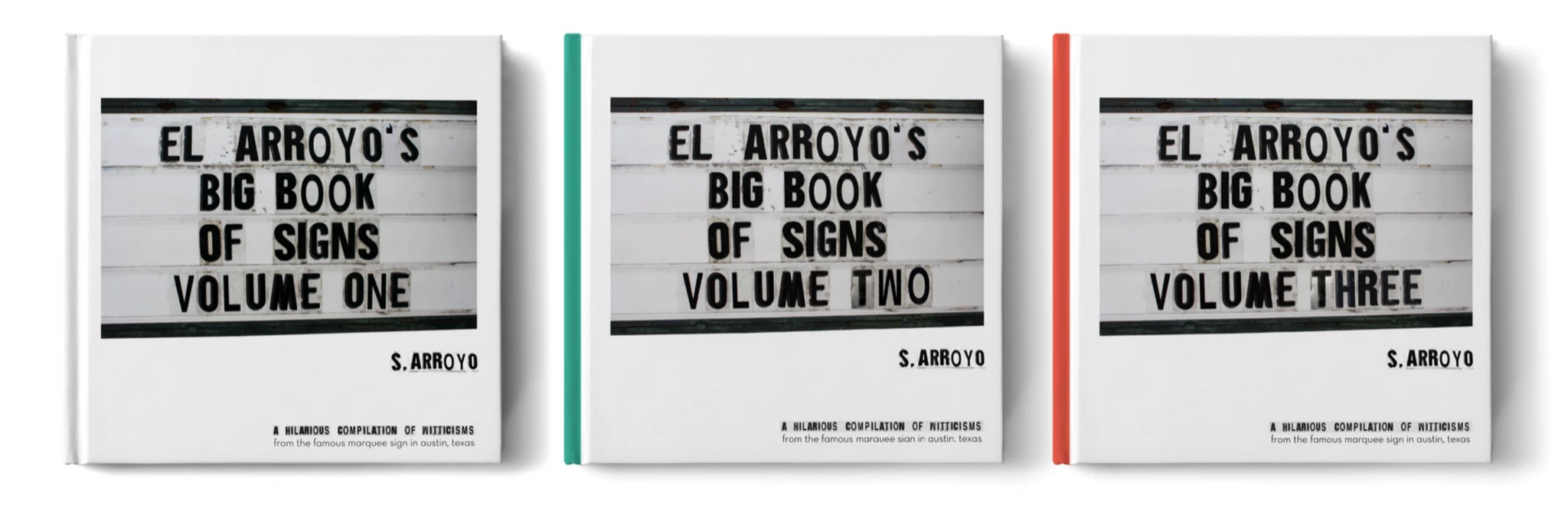 El Arroyo's Big Book Volume Set
