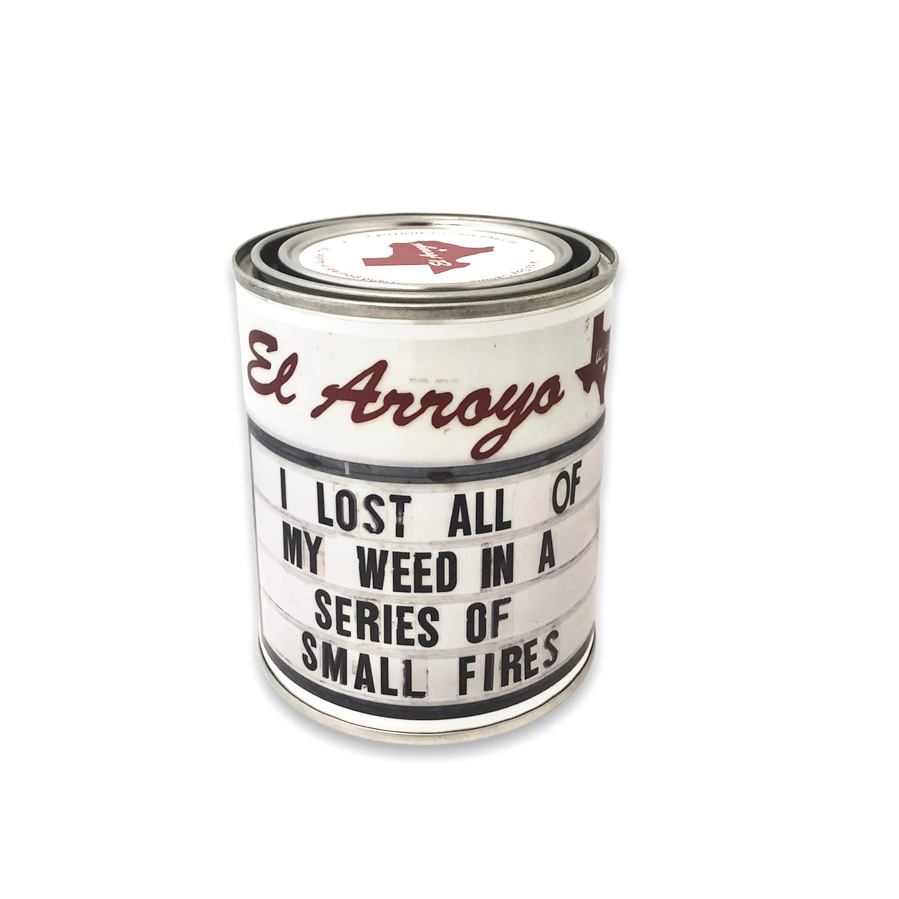 14 oz Paint Can Candle - Small Fires