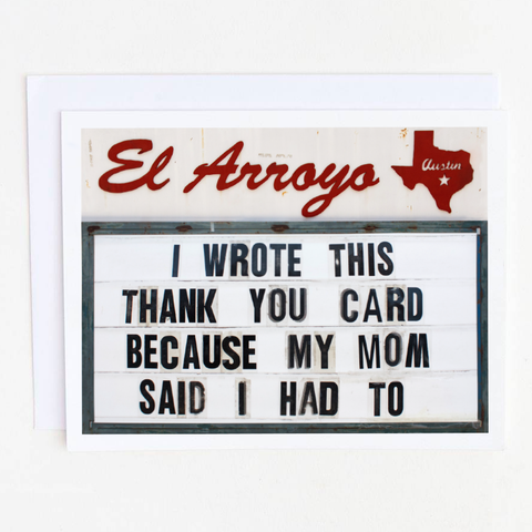 El Arroyo Thank You Card Box Set