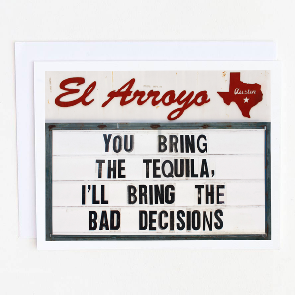 El Arroyo Greeting Card