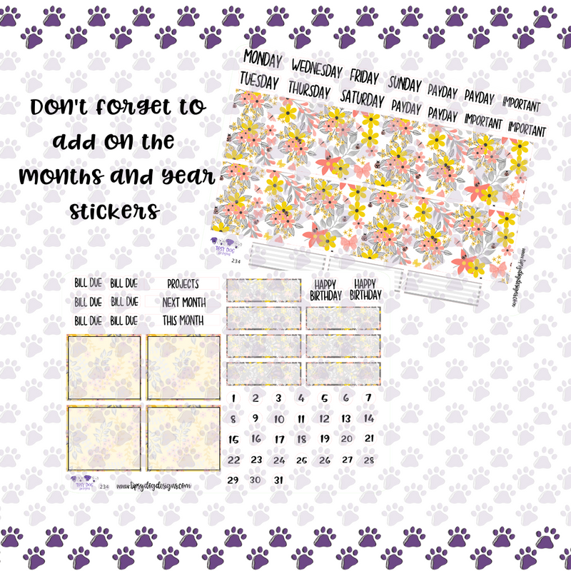 A&N 7x9 Spring Bloom Monthly Kit