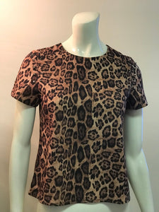 The Blog Leopard Studded Print Shirt