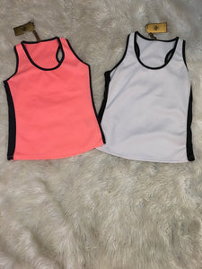 Racer Back Tank Tops