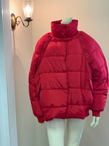 Zip Off Sleeve Puffer Jacket