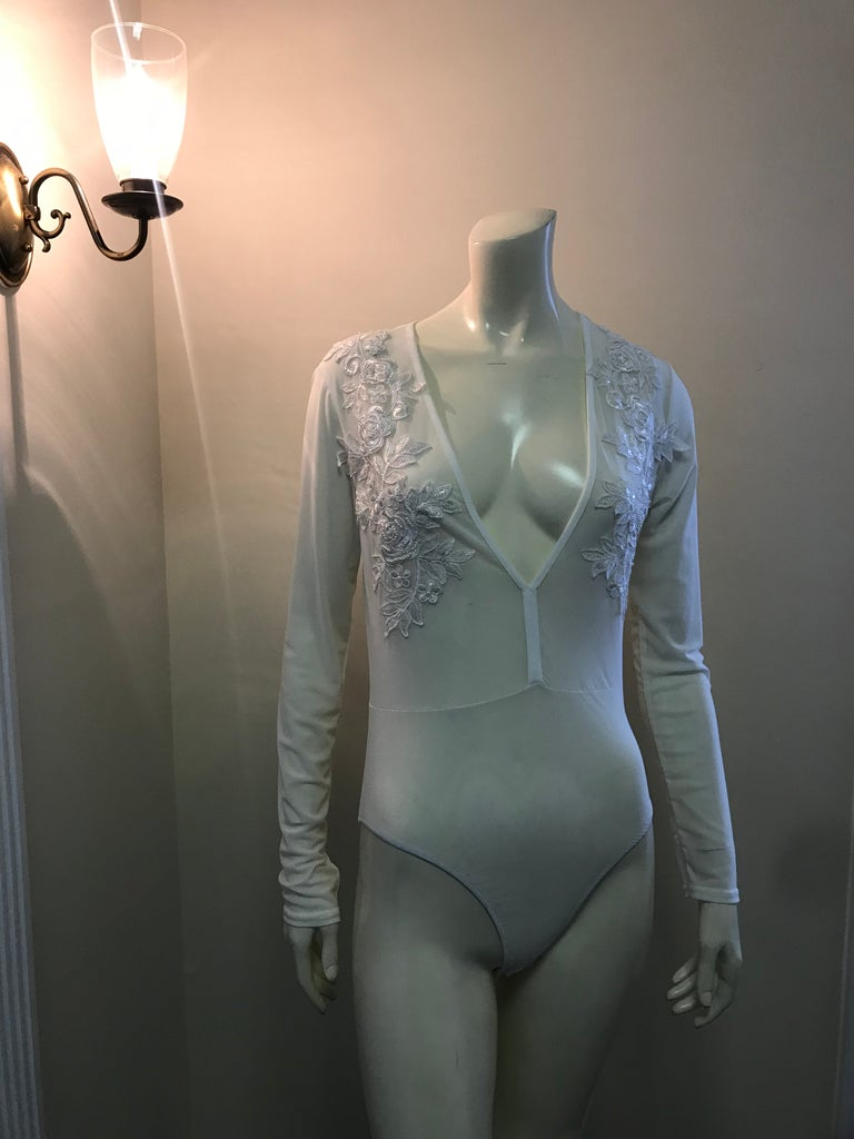 Luxe Lace Leotard