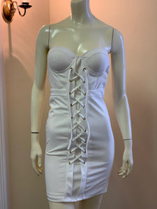 Power Play Bustier Dress