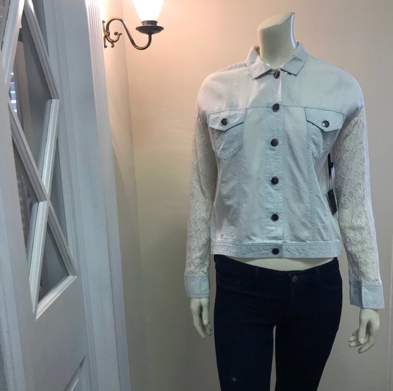 Denim Lace Shirt