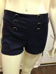 Navy Sailor Shorts