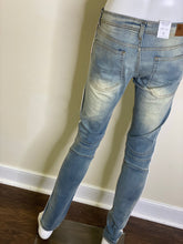 Load image into Gallery viewer, Unisex Denim Side Tape Jeans