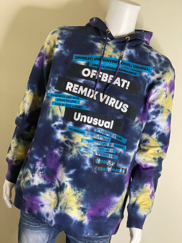 Off Beat Remix Virus Unusual Hoodie