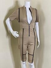 Load image into Gallery viewer, Khaki Utility Jumpsuit