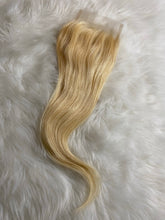 Load image into Gallery viewer, 100% 613 Platinum Blonde Virgin Brazilian Bundles & Closures