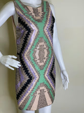 Load image into Gallery viewer, Sequins Abstract Dress