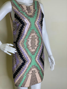 Sequins Abstract Dress
