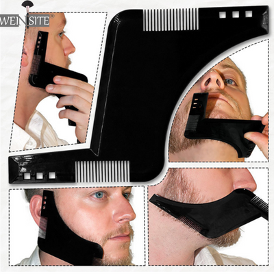 New Men's Double Sided Beards Tool for Beard Trim Templates