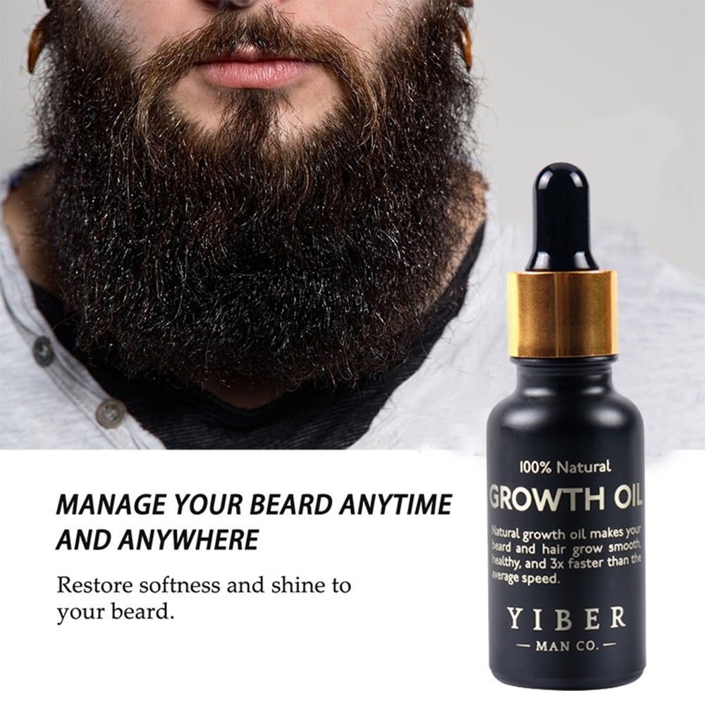 Beard Growth Oil & Wax Balm Moustache