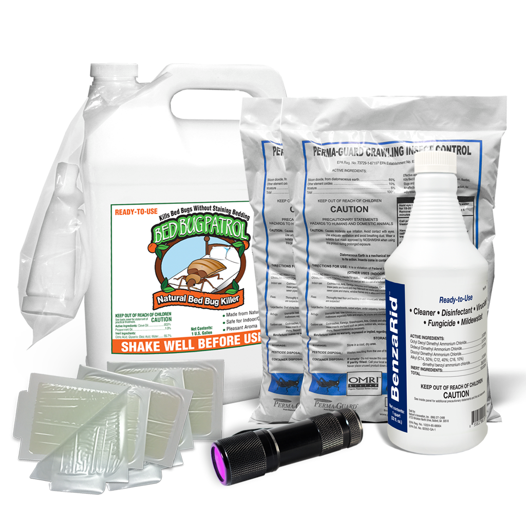 Bed Bug Killer by Bed Bug Patrol - Home Protection Pack (Full-Infestation)